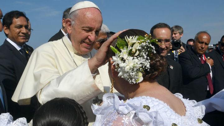 El Papa recuerda en Trujillo las terribles consecuencias del cambio climático