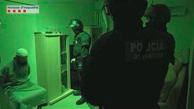 Mossos de Esquadra desarticulan célula yihadista en Cataluña en 2015