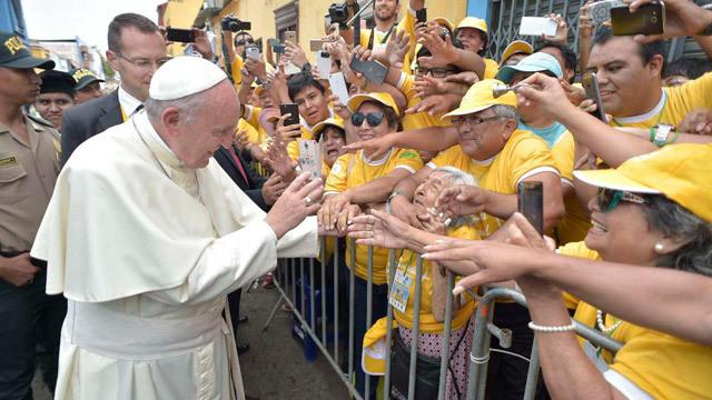 El Papa Francisco en Perú