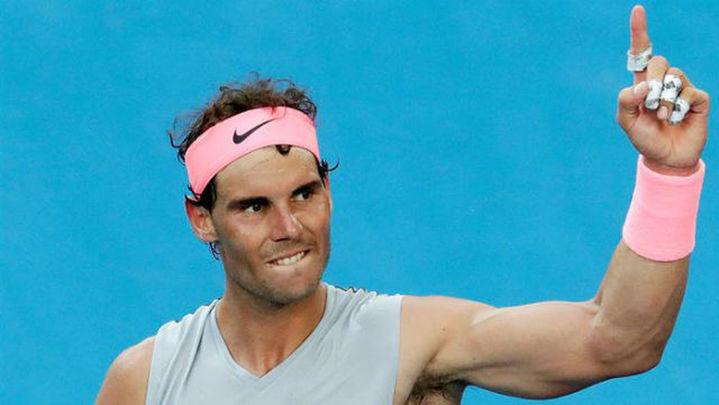 Australia: Nadal se une a Carla Suárez en cuartos de final