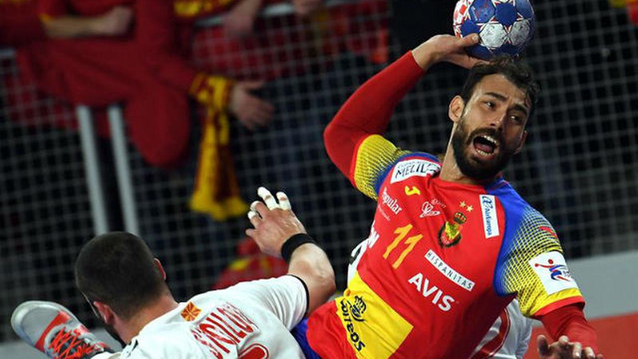 31-20. España arrolla a Macedonia
