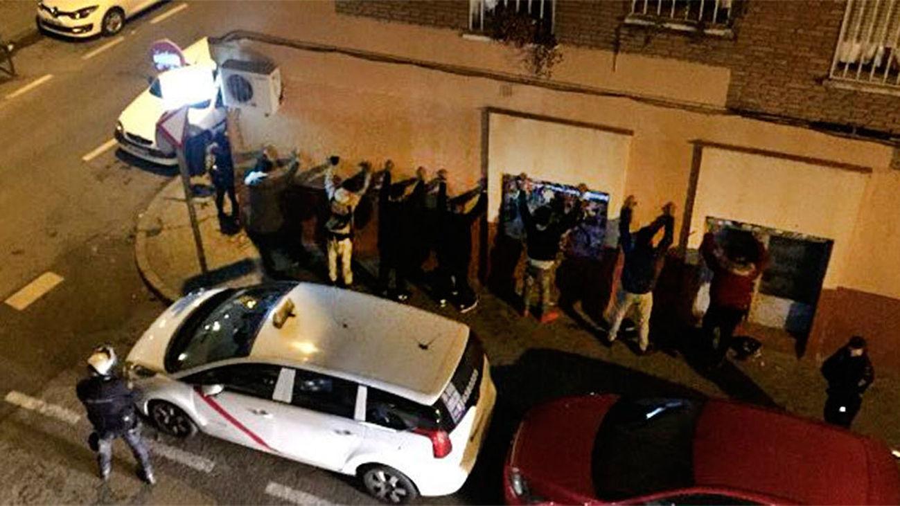 Reyerta multitudinaria entre bandas latinas en Aluche