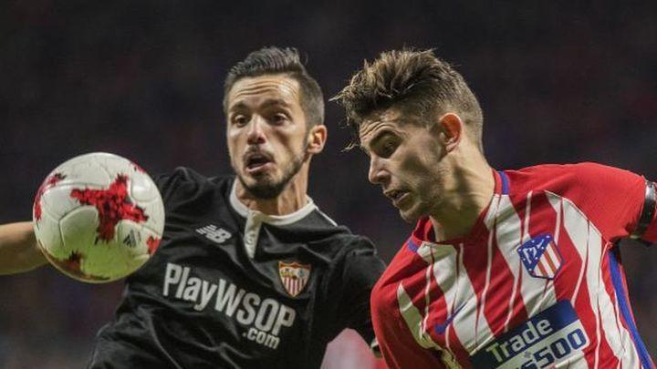 El Atléti busca, sin Diego Costa, la remontada ante el Sevilla