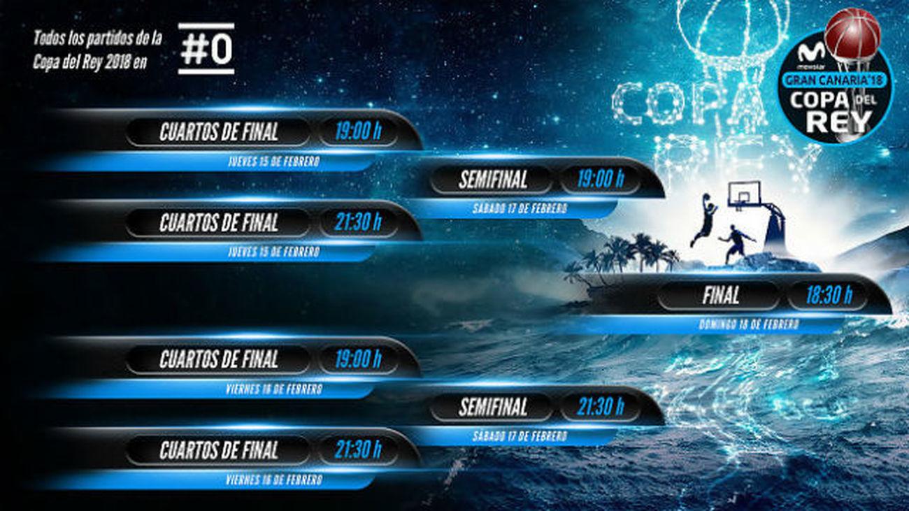 Real Madrid-Unicaja y Fuenlabrada-Gran Canaria, cruces de la Copa