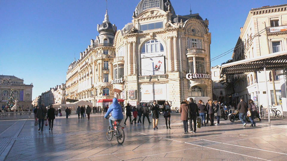 Montpellier, un museo al aire libre al sur de Francia