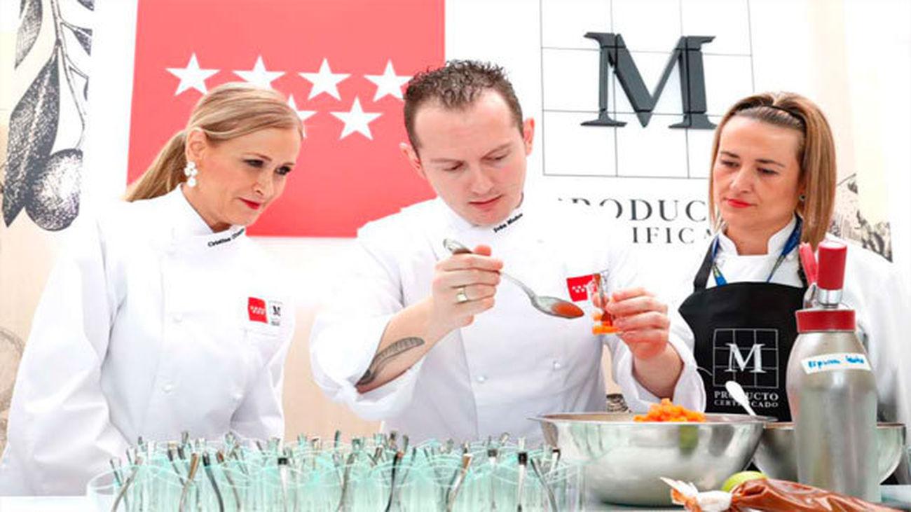 Iván Muñoz, nuevo embajador de los Alimentos de Madrid 'M' Producto Certificado