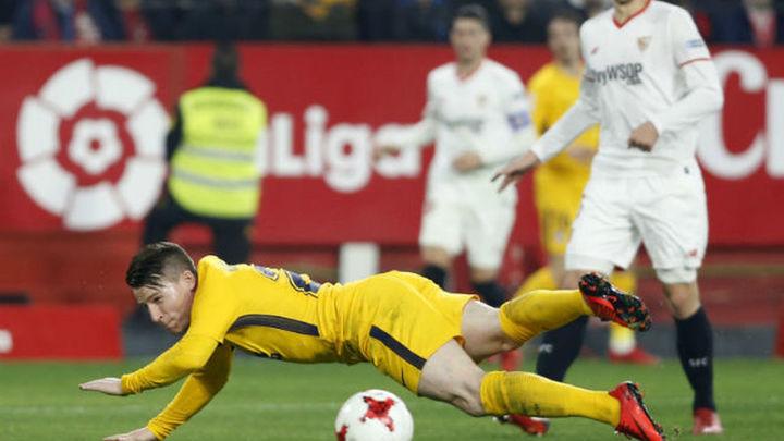 3-1. El Atlético se cae de la Copa