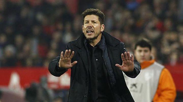 """Simeone: """"Soy el responsable de la eliminación en Copa y Champions"""""""
