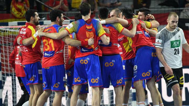27-31. España no falla ante Alemania y peleará por las medallas
