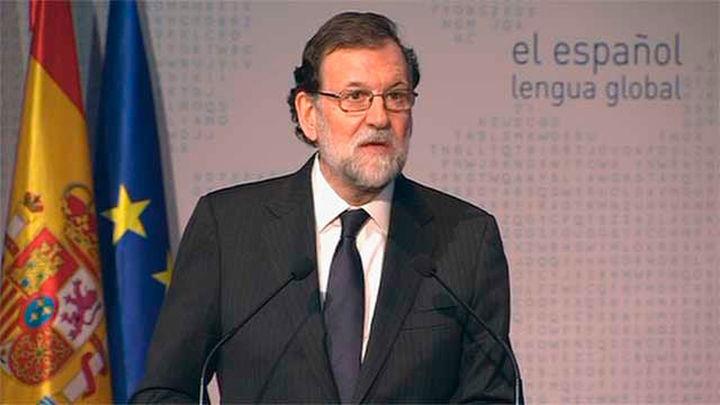 """Rajoy: """"Tenemos la obligación de custodiar y legar el español"""""""