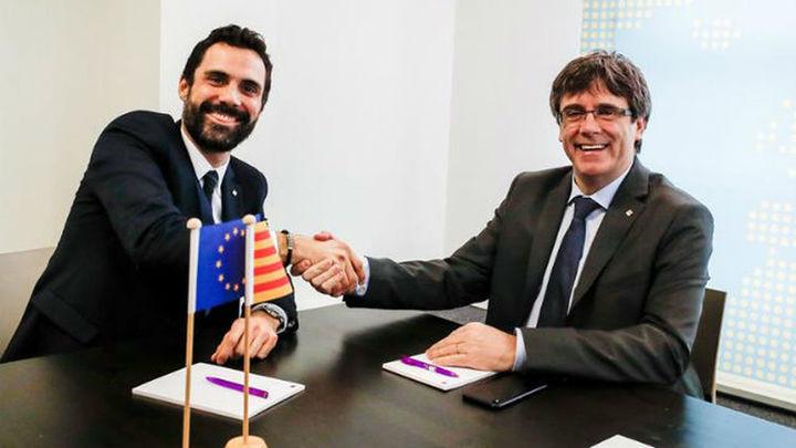"""Puigdemont dice que """"hay muchas posibilidades"""" de estar presencialmente en la investidura"""