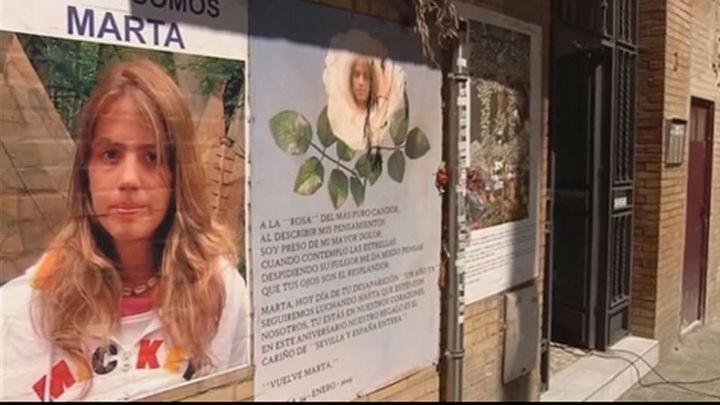 Se cumplen nueve años sin pistas sobre la desaparición de Marta del Castillo