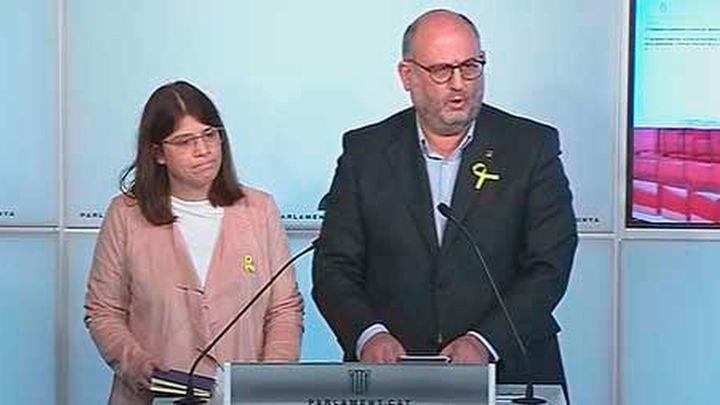 """JxCat acusa a Rajoy de """"golpe de Estado"""" y """"coacción"""" para vetar a Puigdemont"""