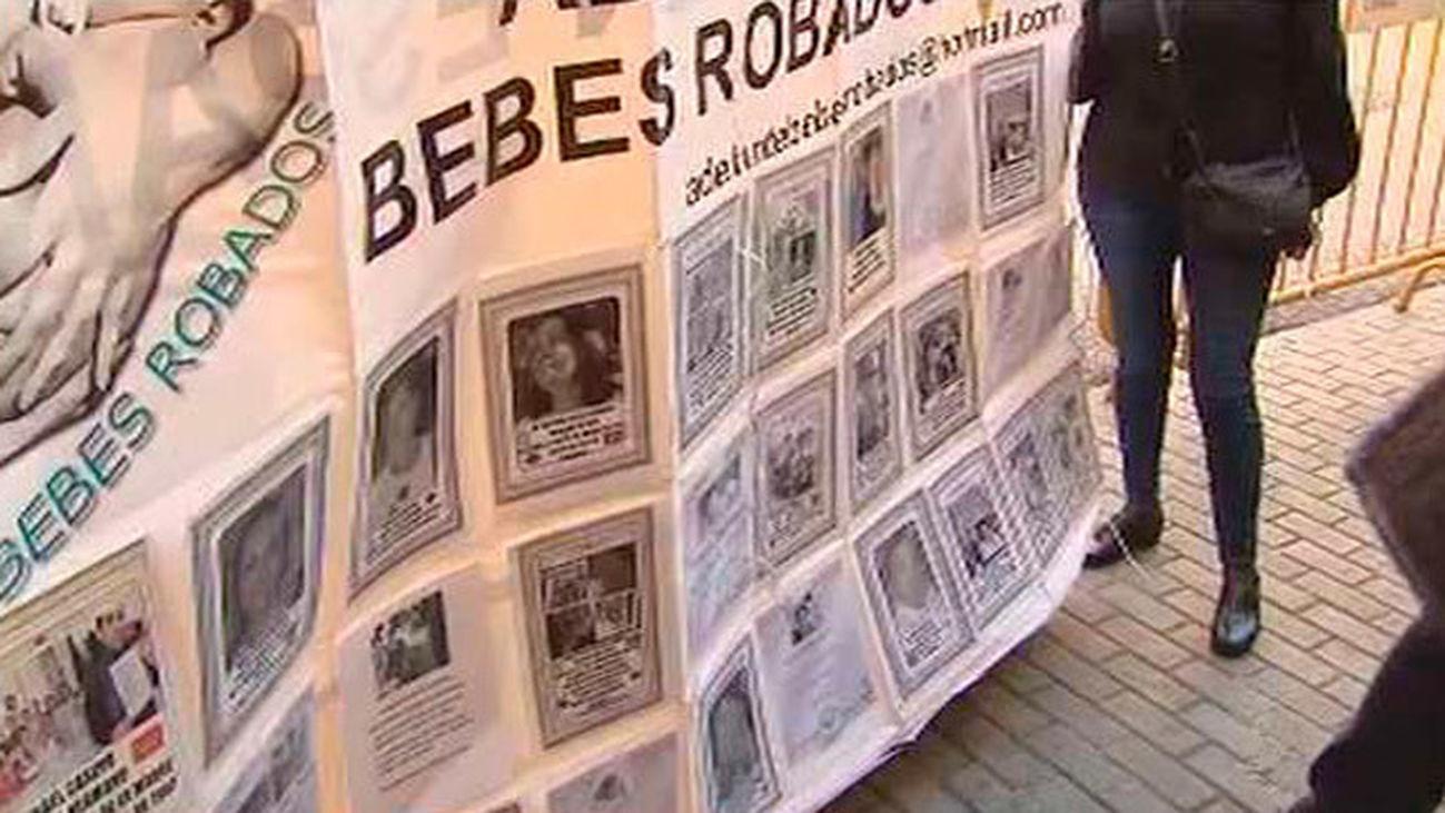 'SOS Bebes robados·, siete años reclamando justicia