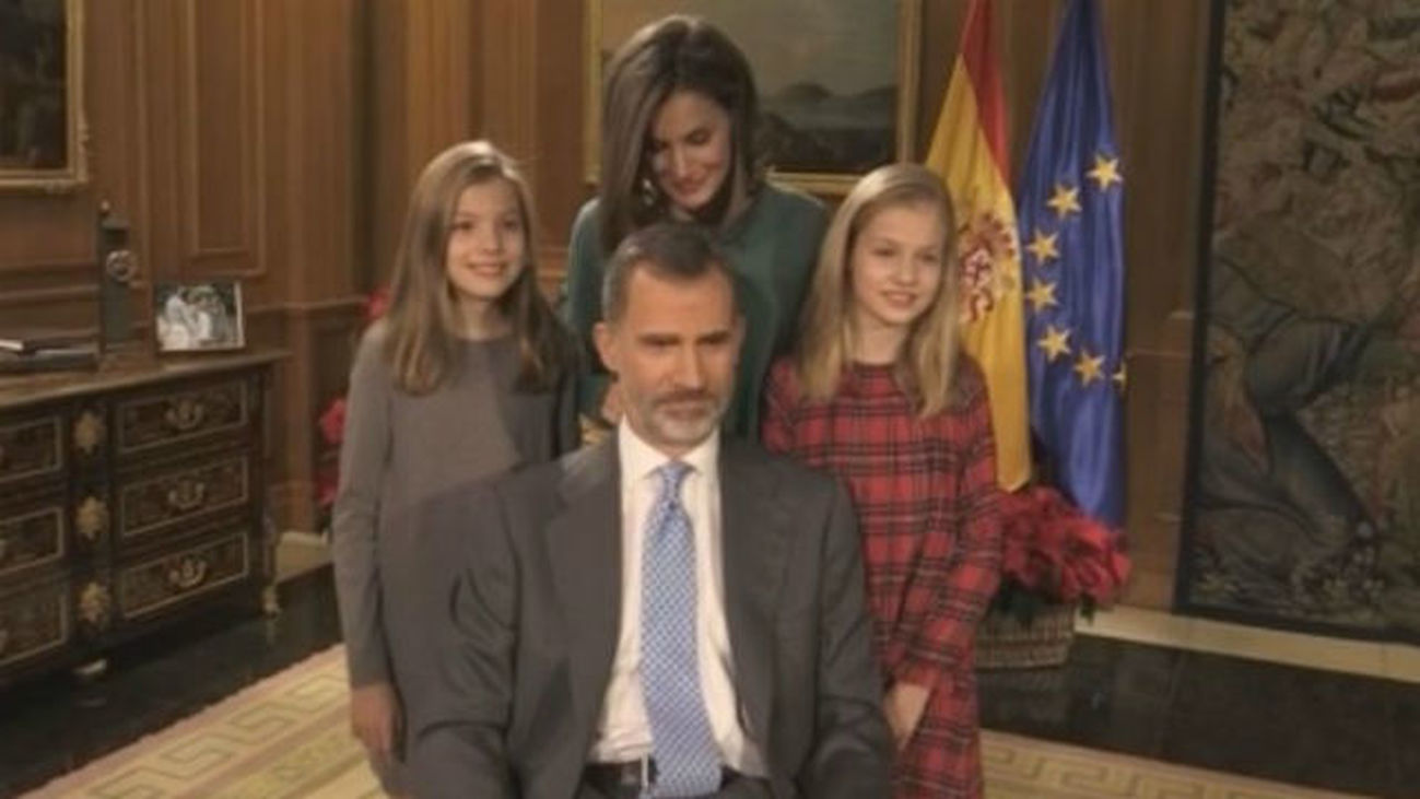 Imágenes inéditas de Felipe VI con su familia unos días antes de su 50 cumpleaños