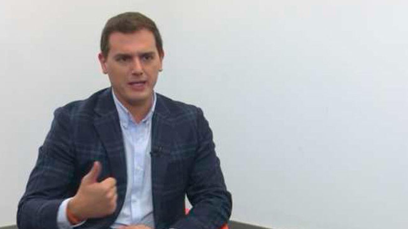 """Rivera: """"El Rey es una persona muy preparada para el momento que toca vivir en España"""""""