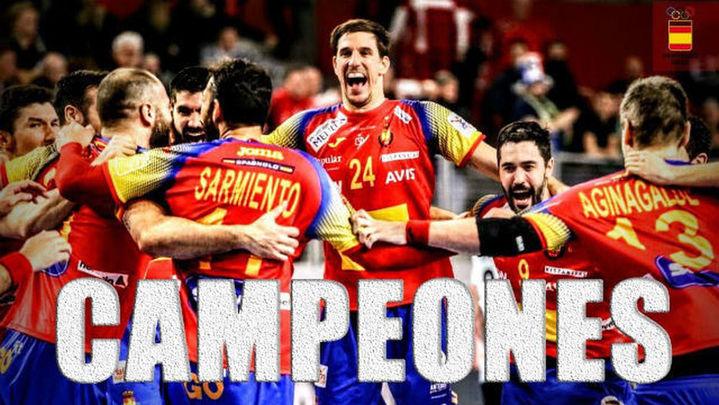 El deporte español celebra el primer título europeo de los 'Hispanos'