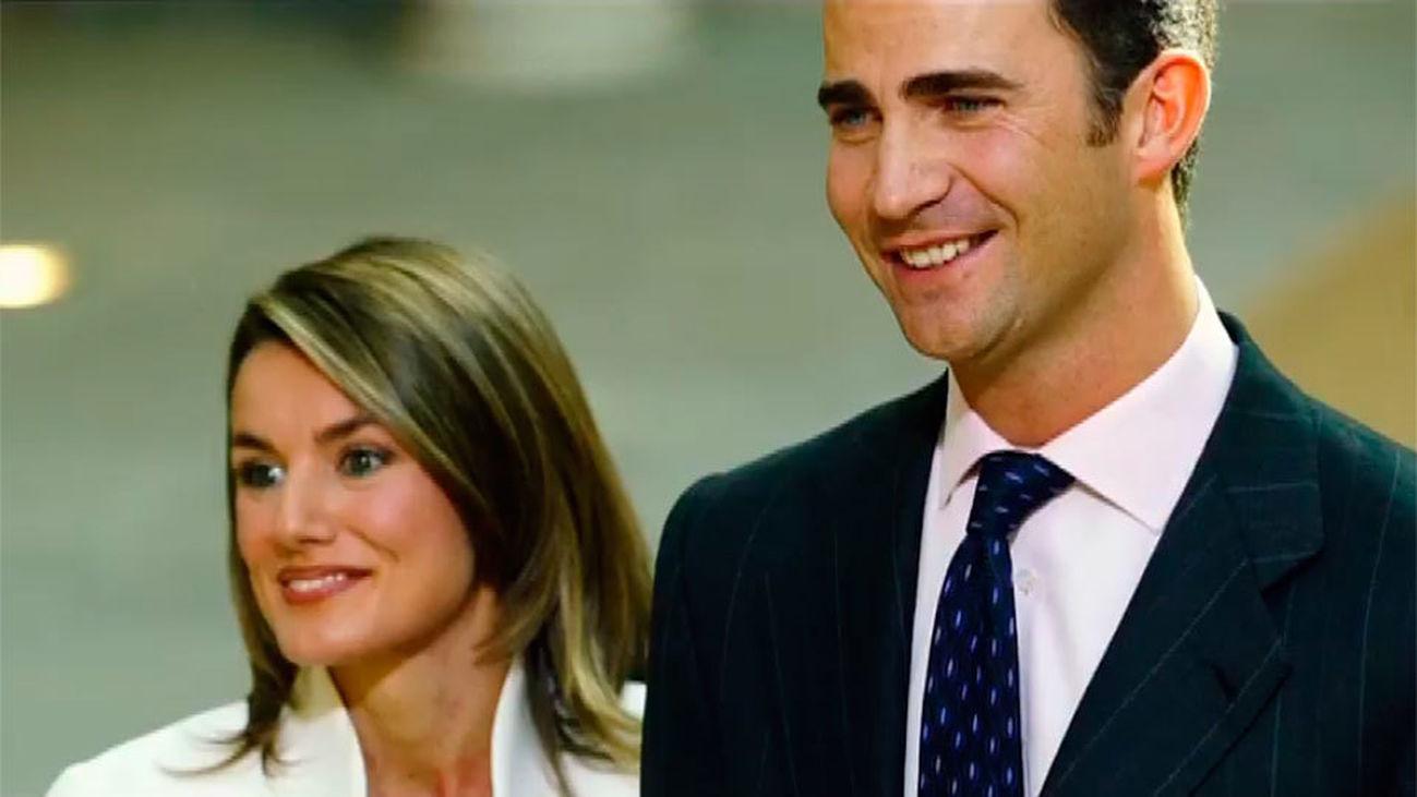 Don Felipe se enamoró de doña Letizia cuando la vio en televisión