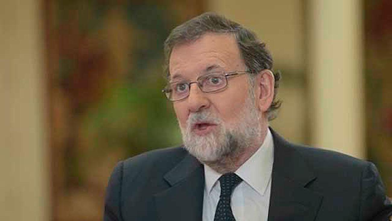 """Rajoy: """"El Rey se ha ganado a los españoles"""""""