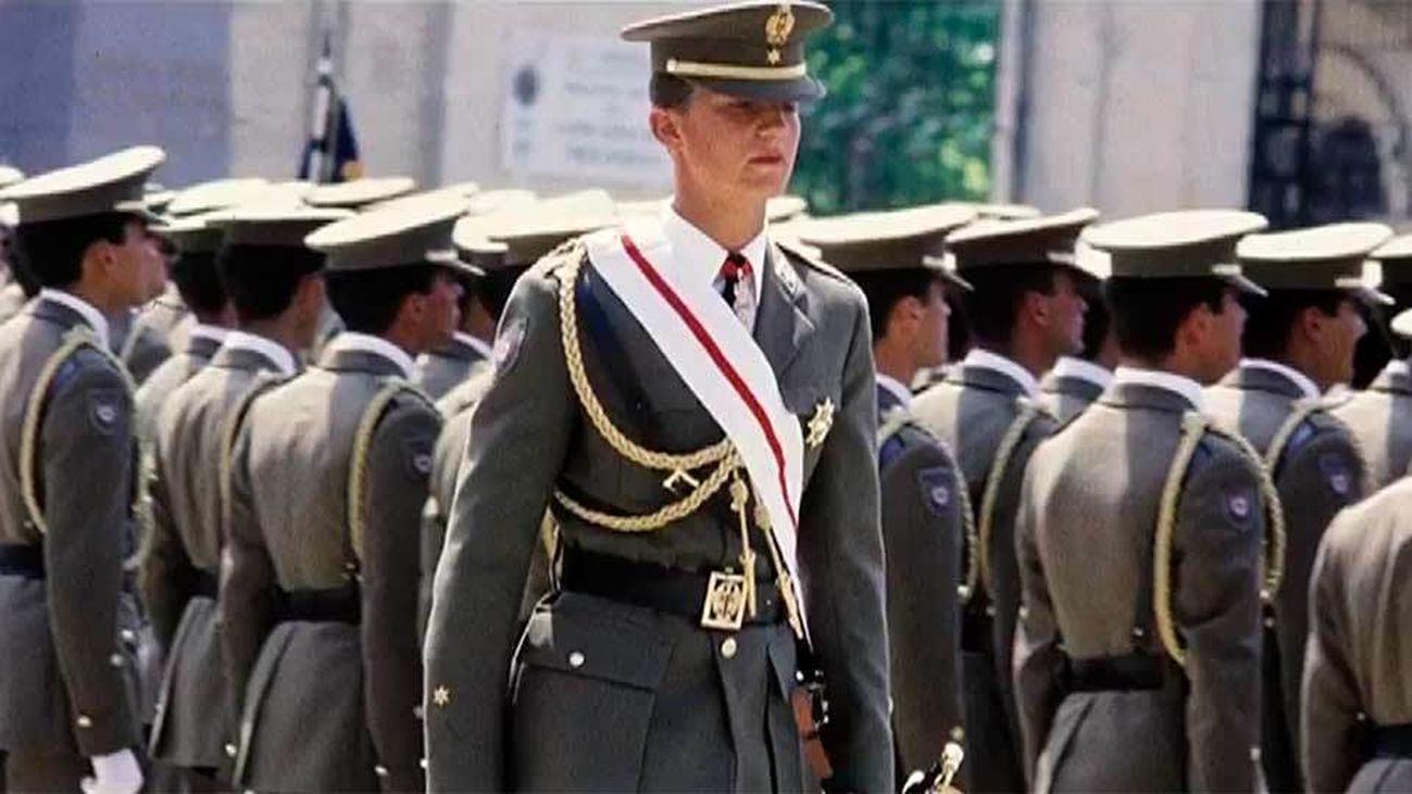 SAR, Pipe o Winston, los motes de Felipe VI durante su formación militar
