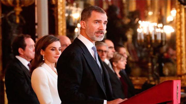 El Rey agradece el apoyo internacional 'sin fisuras' a España ante la crisis catalana