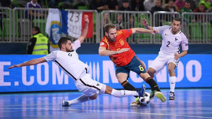 4-4. España empata contra sus errores y contra Francia