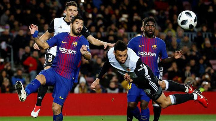 1-0. El Barça logra una mínima ventaja ante el Valencia