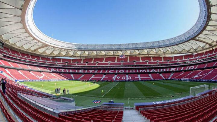 El Wanda Metropolitano, sede de la final de Copa
