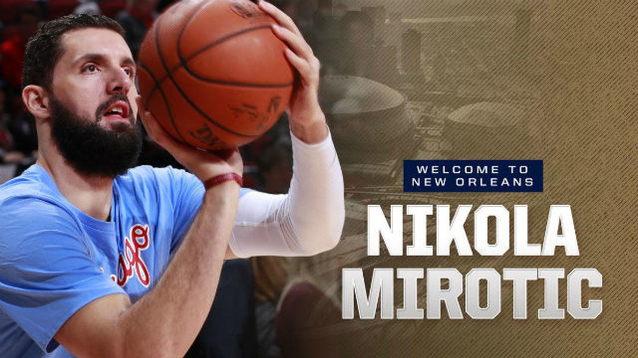 Mirotic deja Chicago y ficha por New Orleans Pelicans