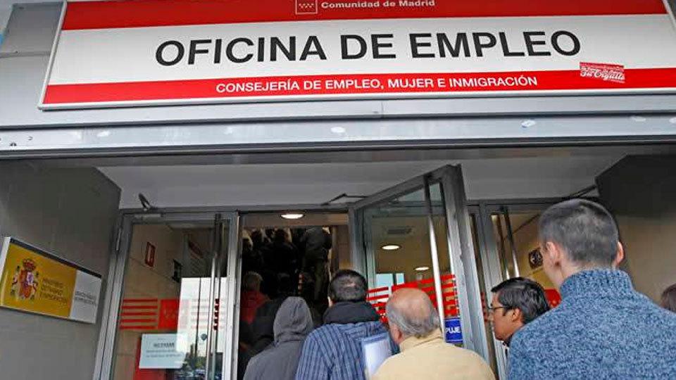 El paro subió en Madrid en 11.766 personas en enero, un 3,18 % más