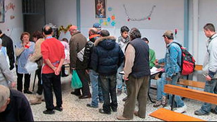 Los albergues para personas sin techo en Madrid se saturan por el frío