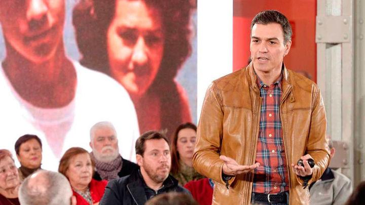 """Sánchez: """"España no puede quedar varada por la irresponsabilidad secesionista y la inacción de Rajoy"""""""