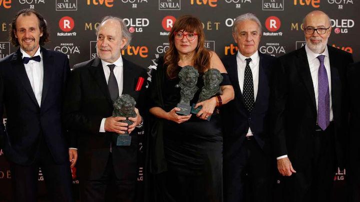 'La librería' de Coixet vence por sorpresa en los Goya de los abanicos rojos