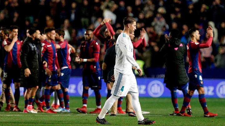 2-2. El Madrid no pudo con el Levante
