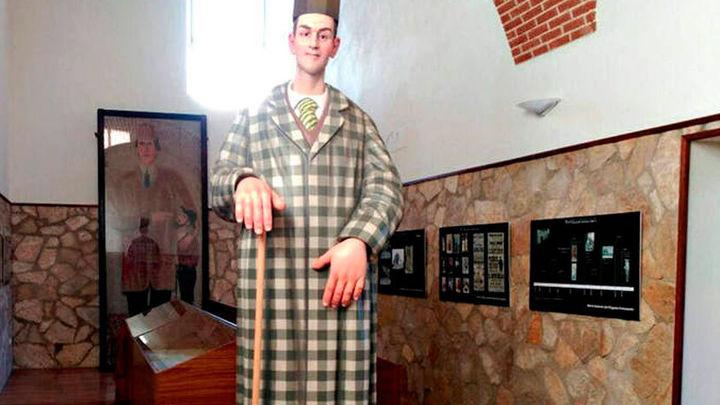 El gigante Agustín Luengo es una de las estrellas del Museo Antropológico de Madrid