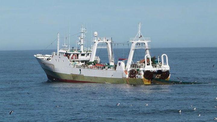 "Argentina captura un pesquero español por pescar ""ilegalmente"" en sus aguas"