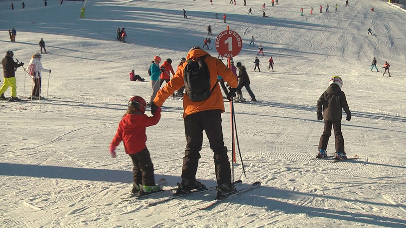 El paraíso de los amantes del esquí
