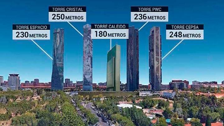 La quinta torre de Castellana tendrá 180 metros de altura y será realidad en otoño de 2020