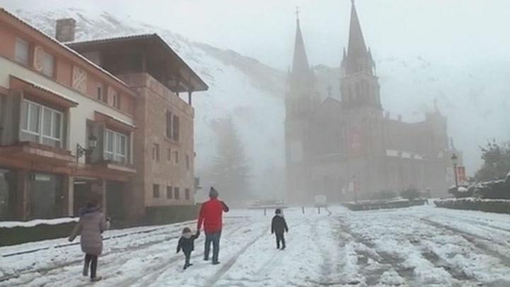 Alerta naranja en el Norte de la Península por nieve, hielo y frío