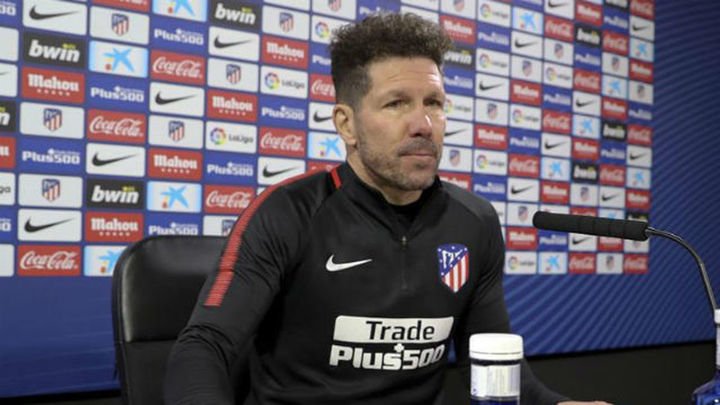 """Simeone: """"No hay nada extraño con Vitolo; al revés..."""""""