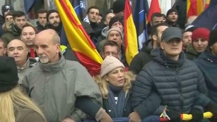 Aplazado el desalojo de Hogar Social Madrid de su sede okupada en Banco Madrid
