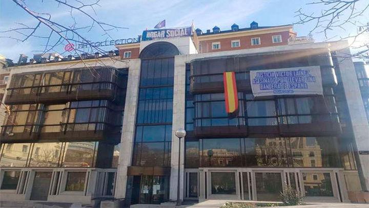 """Los """"okupas"""" de Hogar Social tendrán que dejar hoy la sede del Banco Madrid"""