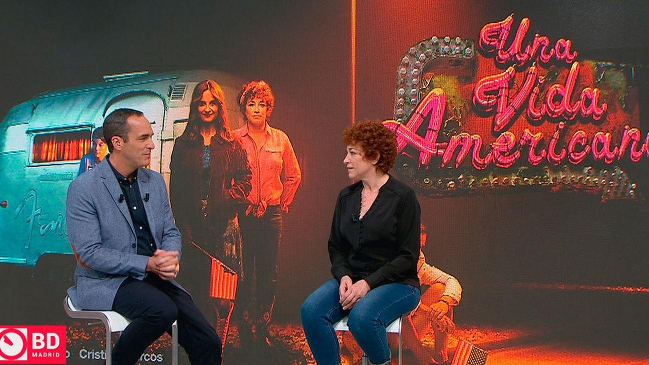 """Cristina Marcos nos adentra en el viaje de """"Una vida americana"""""""