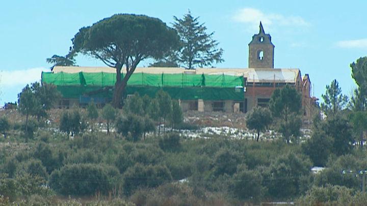Denuncian la construcción de una mansión ilegal en un espacio protegido de Valdemorillo