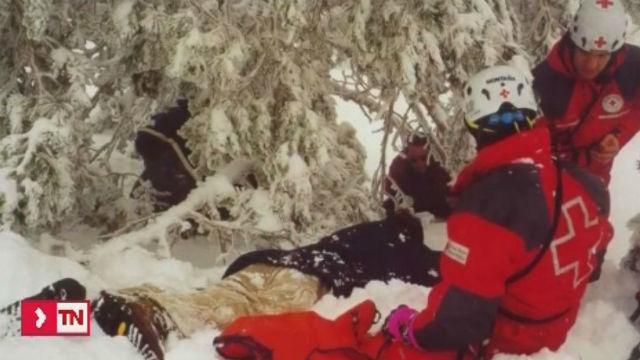 Cincuenta años del primer grupo de rescate en la montaña de la Cruz Roja