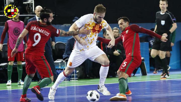 3-2. España pierde la final de la Eurocopa ante Portugal