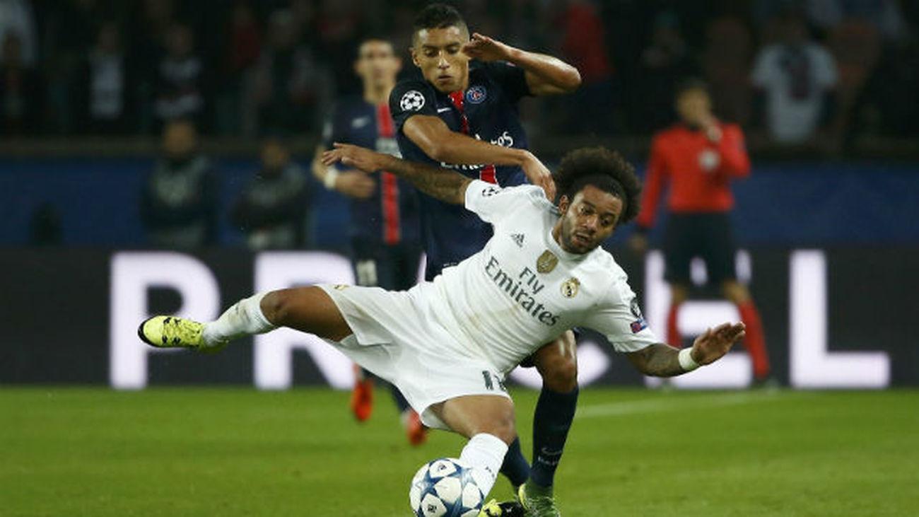 """Marcelo: """"El Real Madrid-PSG es una final anticipada"""""""