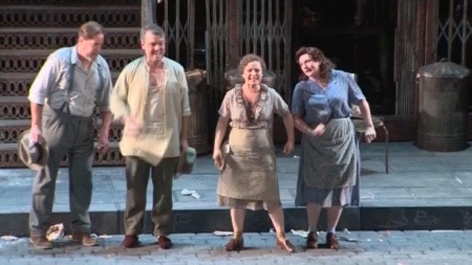 El Real estrena 'Street Scene', una ópera atípica con mucho de musical de Broadway