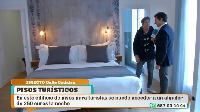 Visitamos un apartamento tur stico de lujo en madrid telemadrid radio televisi n madrid - Apartamento turistico madrid ...