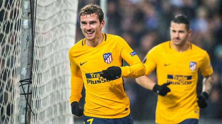 1-4. El Atlético se pasea en Copenhague